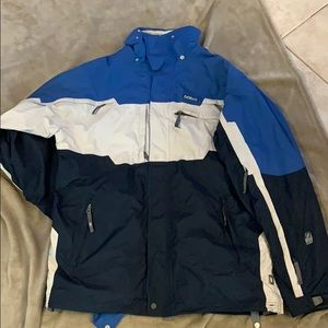 Outer shell ski/snowboard jacket